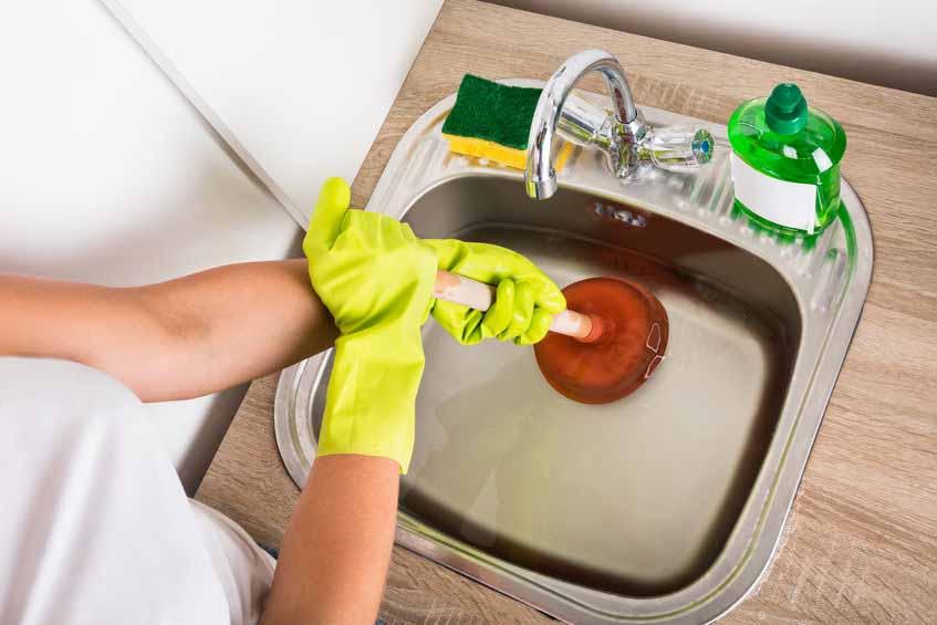 drain cleaning in Marietta, GA