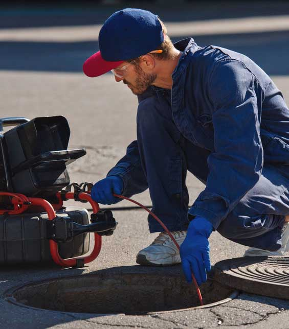 sewer camera inspection services in Roswell, GA